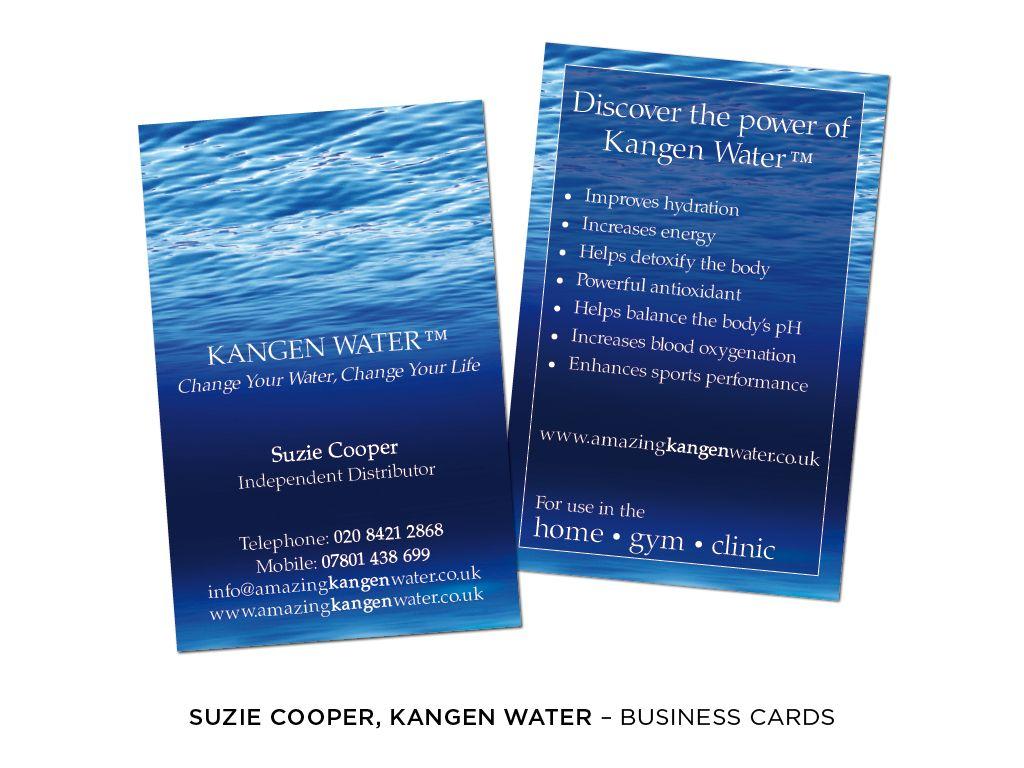 raindrop water Standard Business Cards | Kangen | Pinterest ...