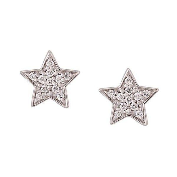 Alinka Stasia diamond star stud earring - Metallic zbjXJMYMf