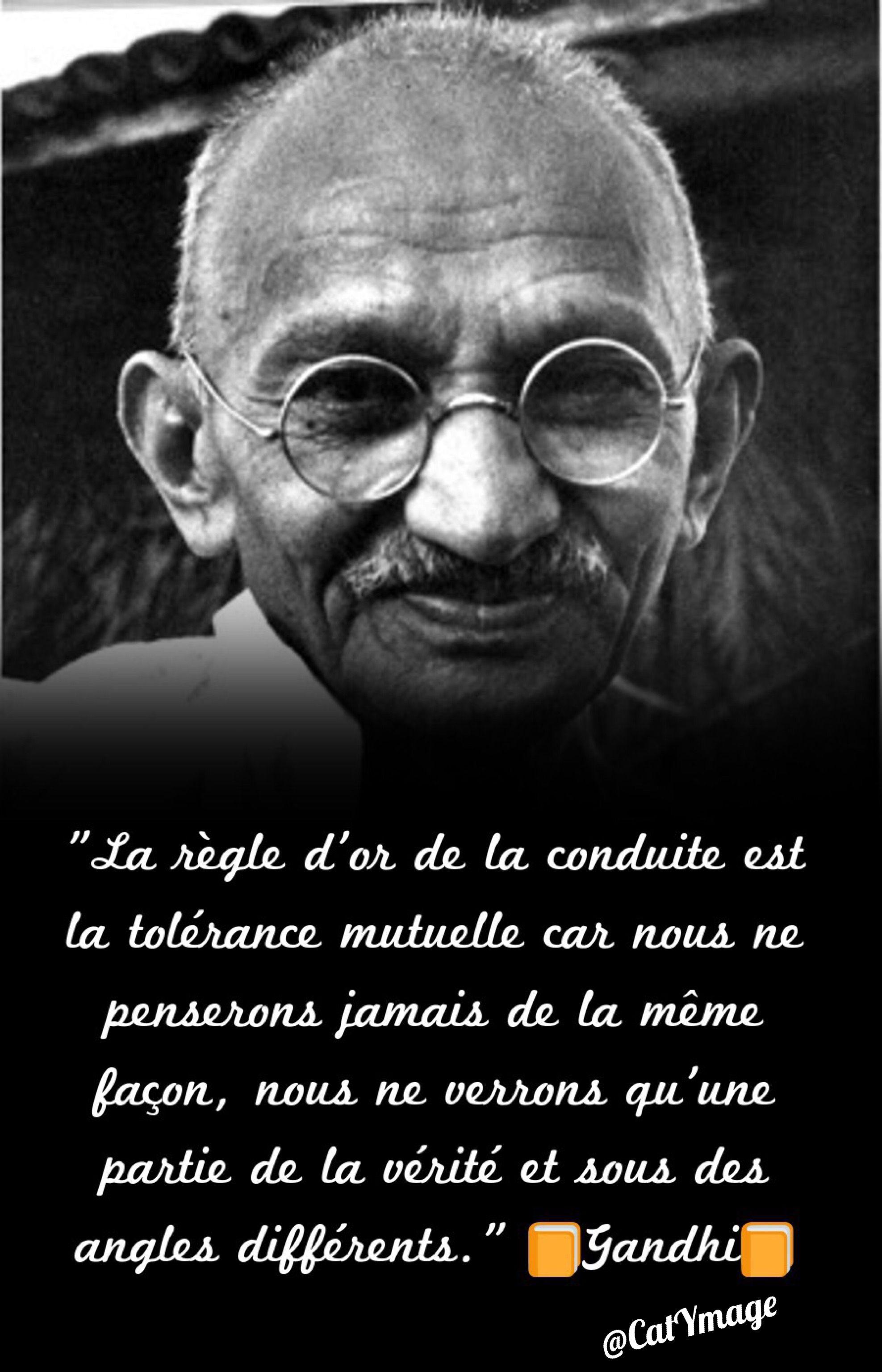 La Regle D Or De La Conduite Est La Tolerance Mutuelle Car Nous Ne