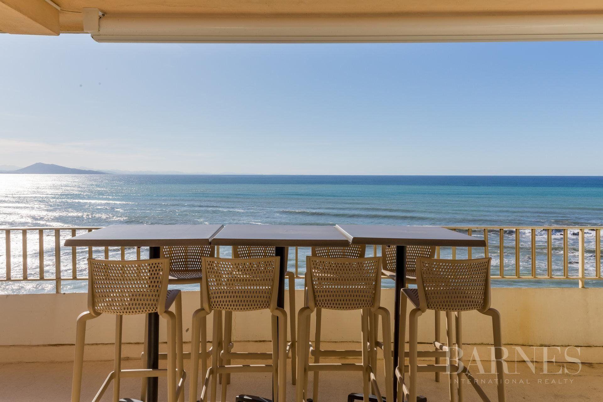 Vente Appartement Contemporain T3 70 M Vue Mer Biarritz Salled 39 Eau Biarritz Bar Table Home