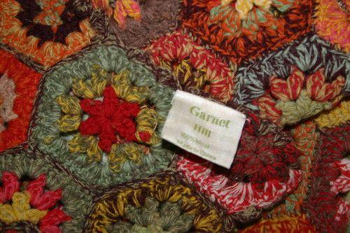 Garnet Hill Haverhill Afghan Rich Autumn Shades Handmade Ebay