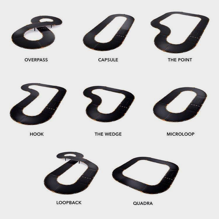 Build All Eight Of These Tracks With The Ankioverdrive Starter Kit Which Is Your Favorite Battlefield Slot Car Tracks Starter Kit Honda Logo