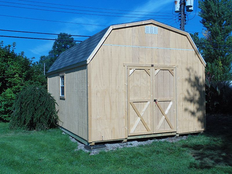 Gambrel Barn · Storage Sheds · Recreation Unlimited