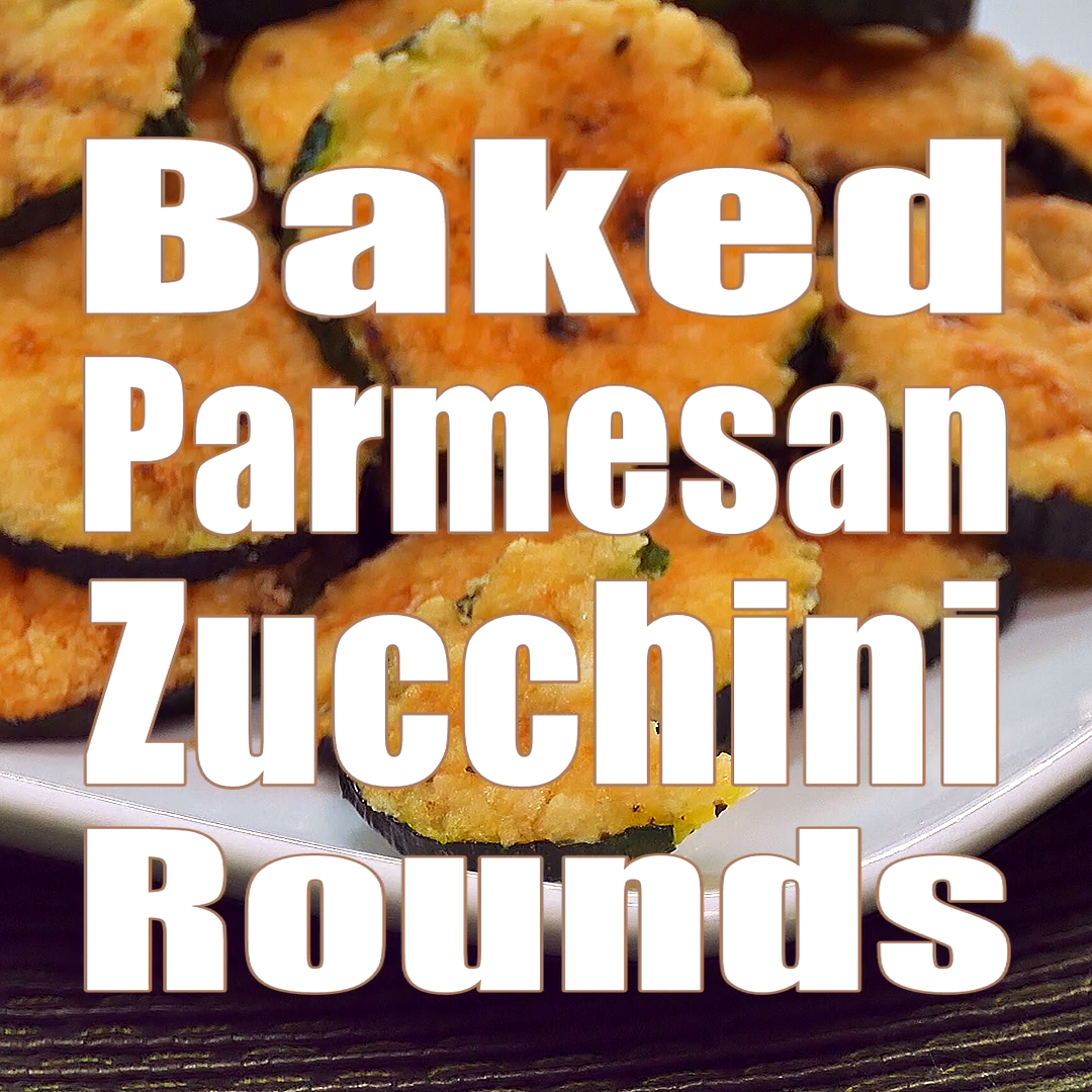 2 INGREDIENTS! Baked Parmesan Zucchini Rounds images