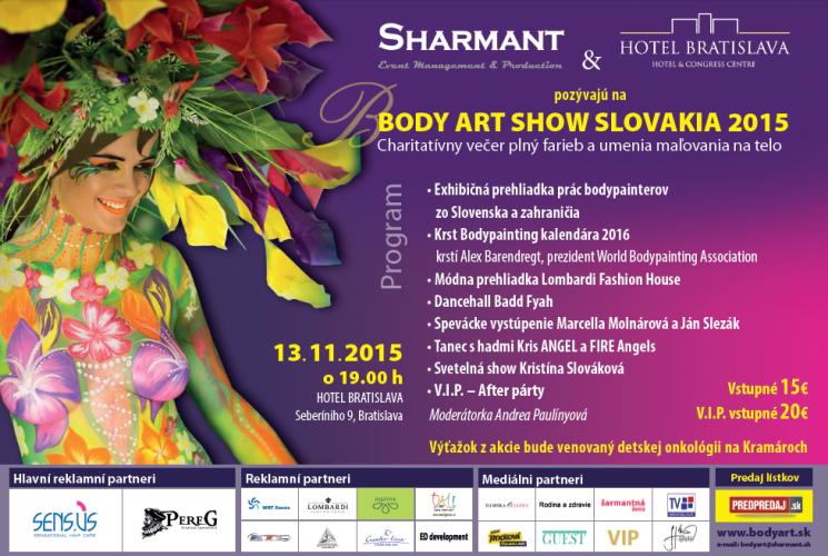 Body Art Show Slovakia 2015 Bodypainting Akce