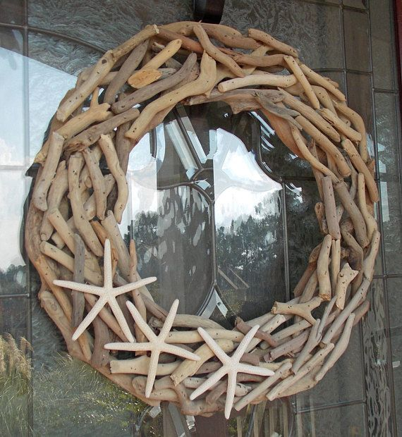 decorations coastal christmas door doors wreaths pin front outdoor