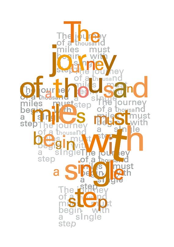 Digital print Motivational Art Spiritual quote by