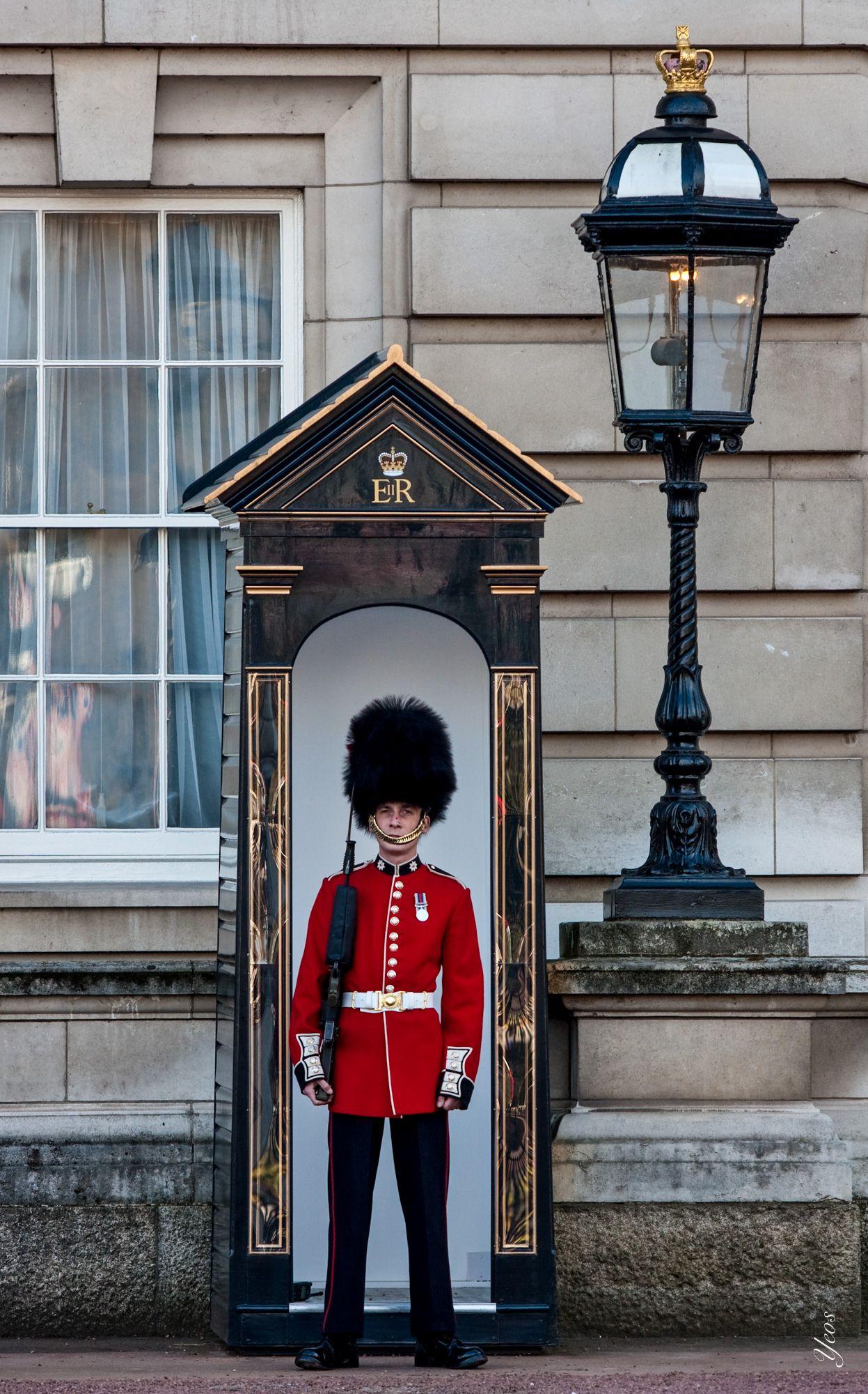 London Buckingham palace, Londen, Engeland