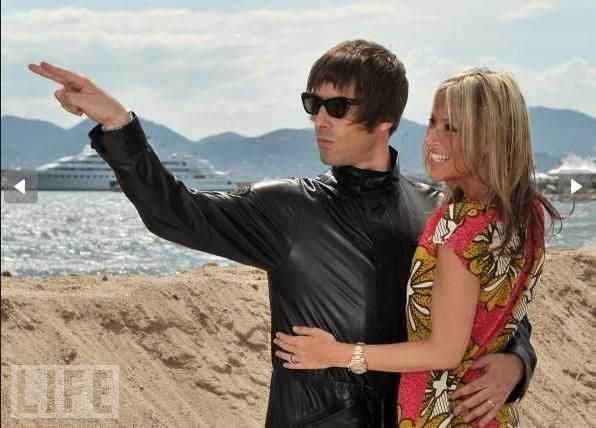 Cannes is for Rock Stars  Liam Gallagher & Nicole Appleton