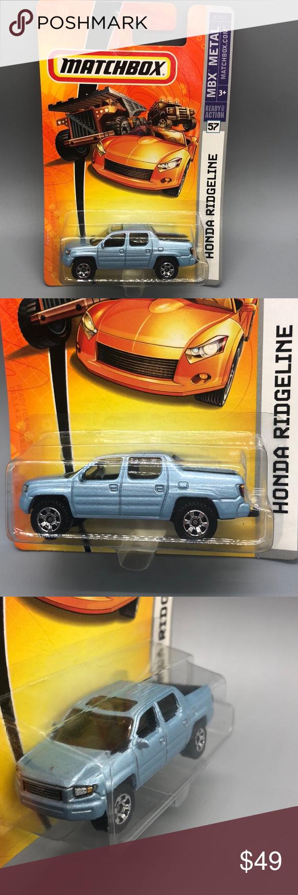 Light Blue Honda : light, honda, Matchbox, Light, HONDA, RIDGELINE, Edition, Honda, Ridgeline,, Matchbox,