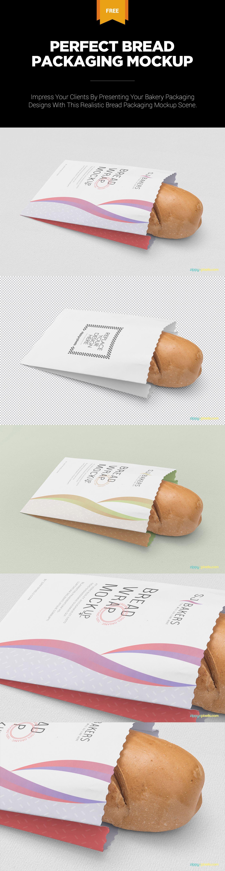 Download Free Bread Packaging Mockup Zippypixels Bakery Packaging Design Packaging Mockup Bread Packaging
