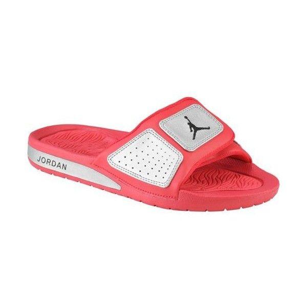 low priced cb247 185d7 Jordan Hydro 3 Girls  Grade School ❤ liked on Polyvore Sport Sandals, Foot  Locker