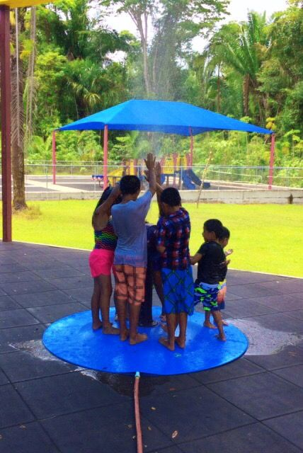 A Portable Splash Pad For This Belize Orphanage So The Children Can Stay  Cool In The