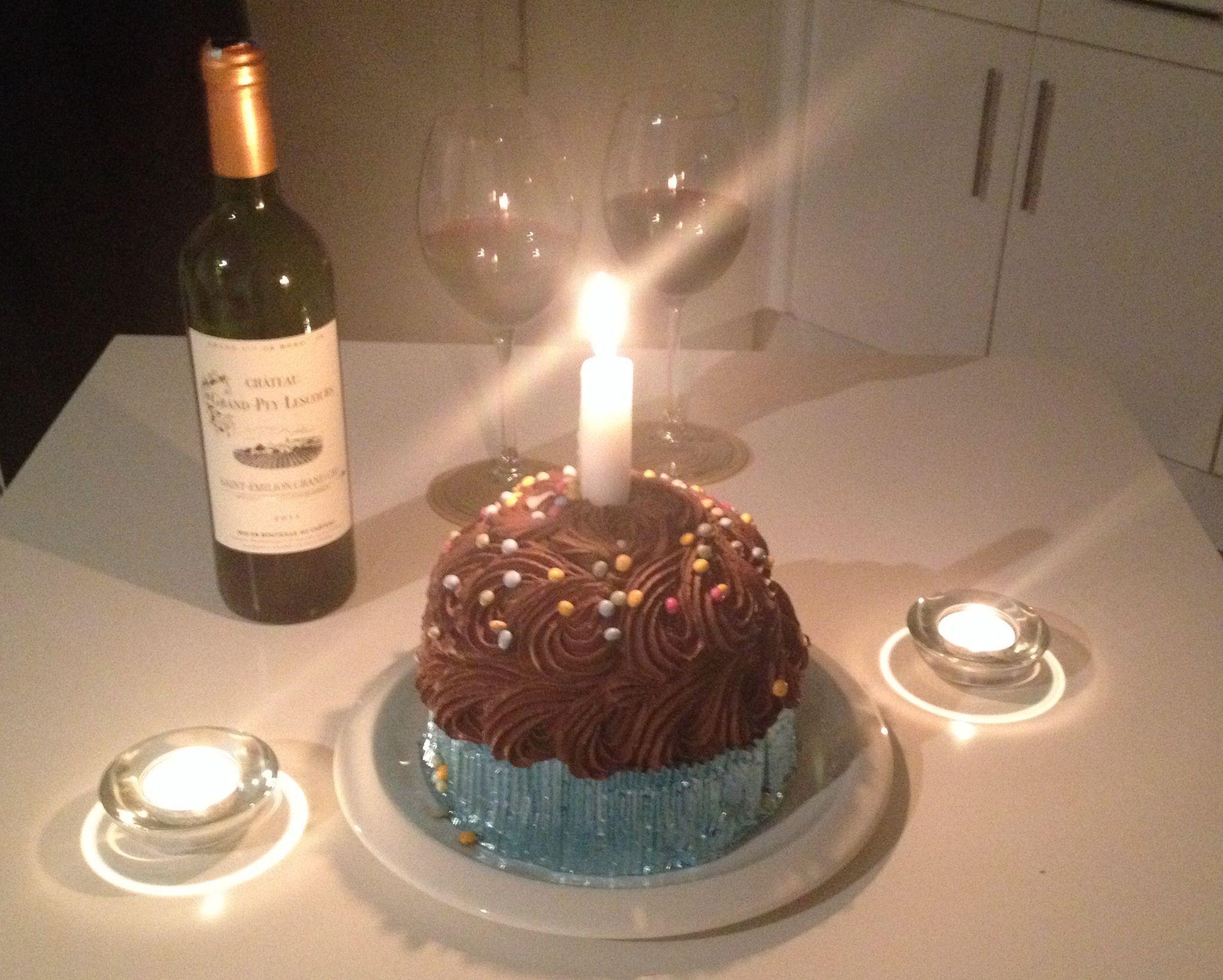 Birthday Cakes Asda Childrens ~ Happy birthday to me giant cupcake birthday cake asda