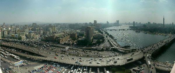 Cairo-Hilton-Skyline - 6th October Bridge - Wikipedia, the free encyclopedia