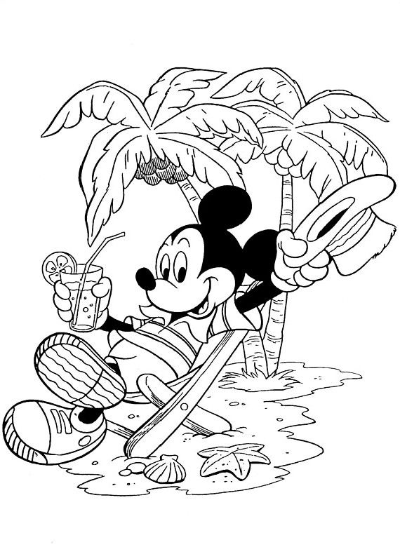 mickey mouse free coloring pages for kids | Pin by Debbie Jones on Mickey Mouse my love!! | Mickey ...