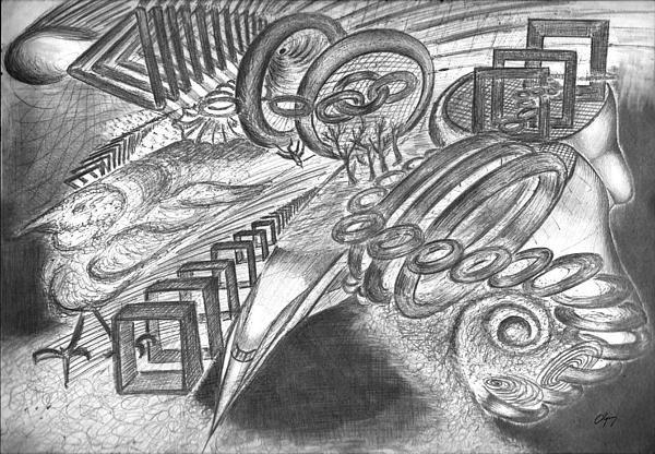 Title: Through The Sound Barrier , Artist : Blagojce Dumovski, All Rights Reserved © Blagojce Dumovski