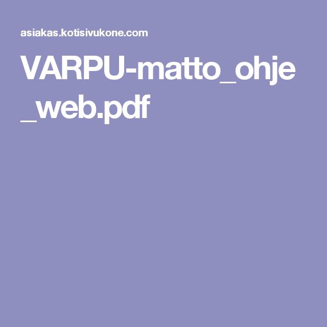 VARPU-matto_ohje_web.pdf