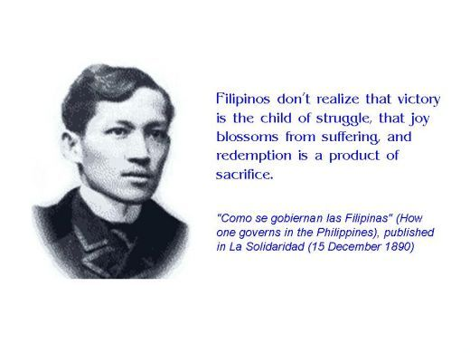 Quotes From Dr Jose Rizal Jose Rizal Patriotic Quotes Philippines Quotes