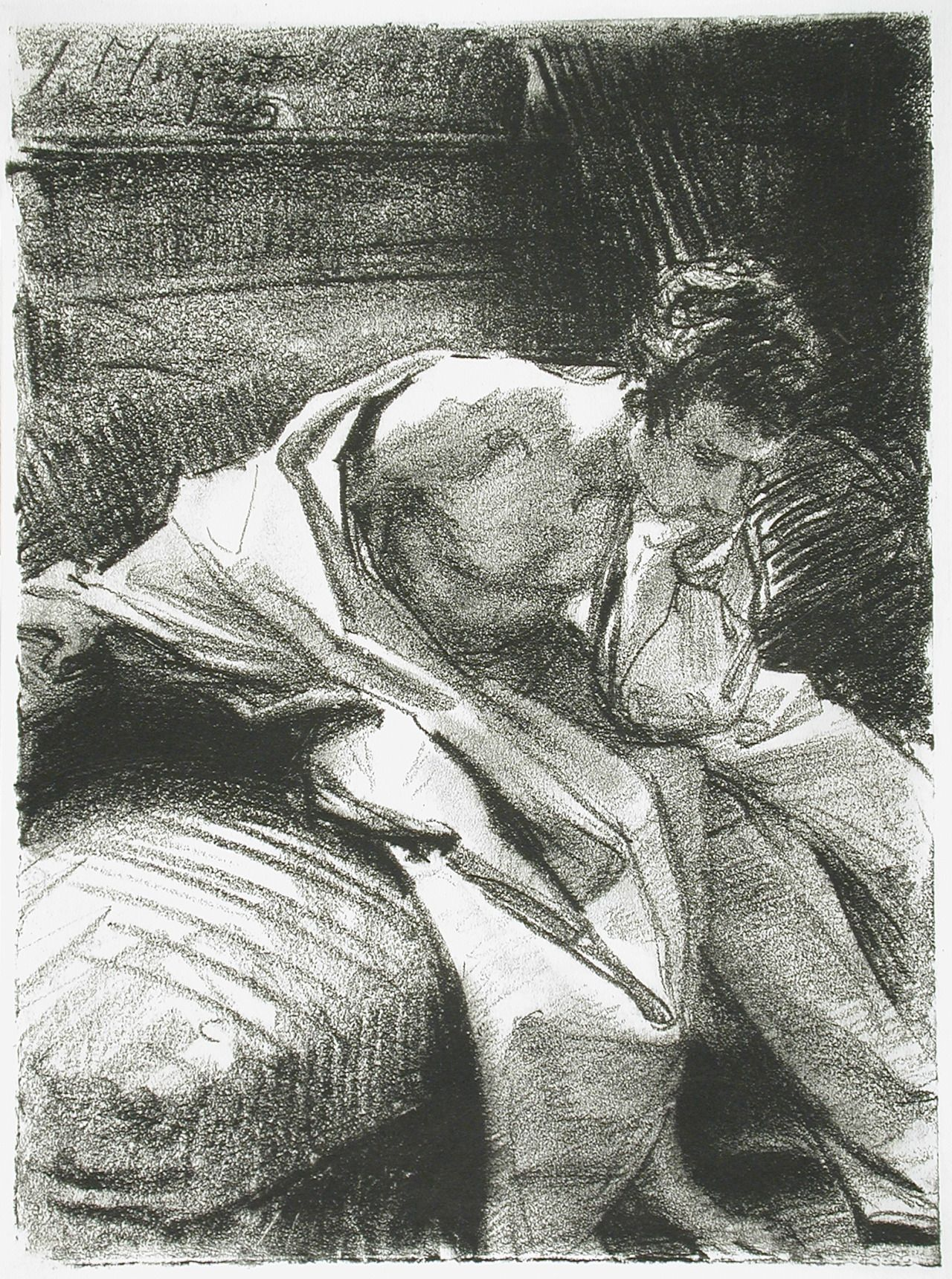 Study of a Young Man (Seated), 1895, John Singer Sargent