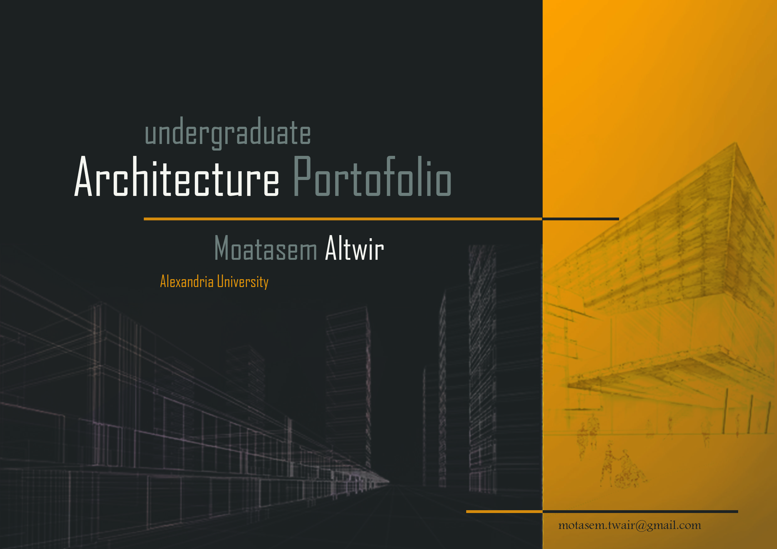 cover photo  architectureportfolio