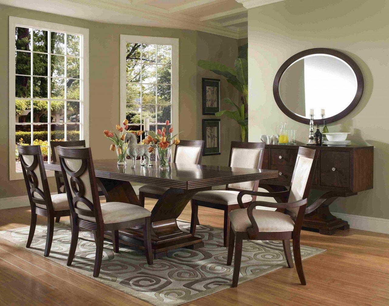Formal Dining Room Sets Stunning Dining Room Design Dark Bown Formal Dining Room Sets Ruang Makan Modern Desain Ruang Makan Ruang Makan Tradisional