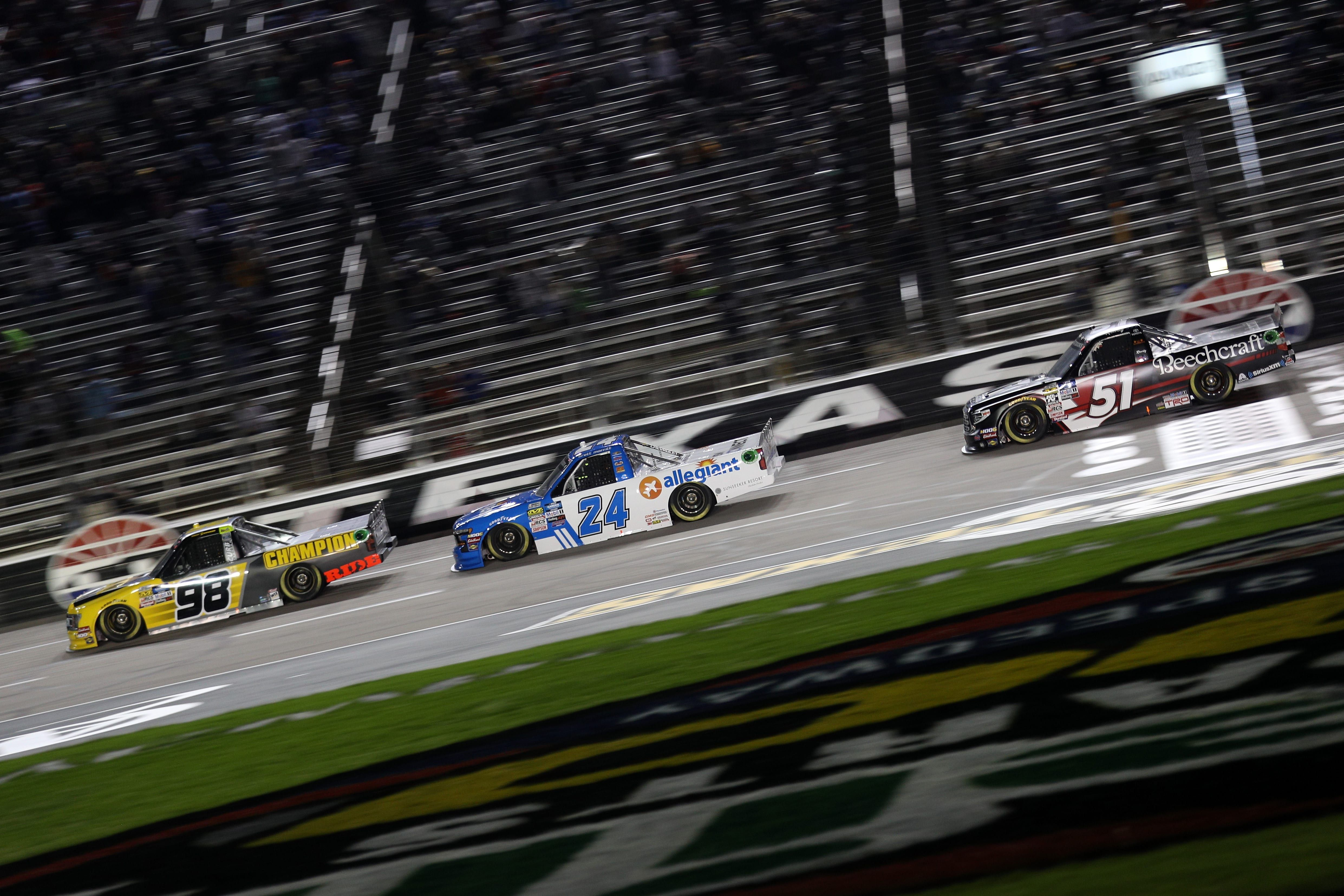 NASCAR truck race results from Texas Motor Speedway