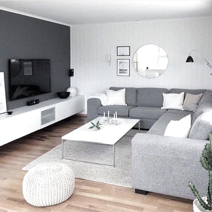 47 Idees De Design De Salon Gris Charmant Pour Votre Appartement Appartement Charmant En 2020 Decoration Salon Gris Decoration Salon Appartement Deco Moderne Salon