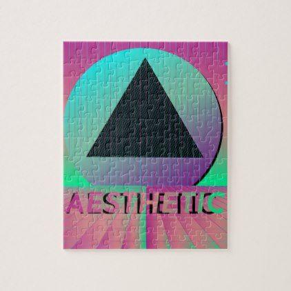 vaporwave aesthetic jigsaw puzzle | Zazzle.com