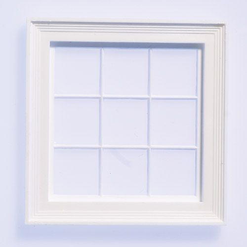 Small Single Window Frame from The Dolls House Emporium | Windows ...