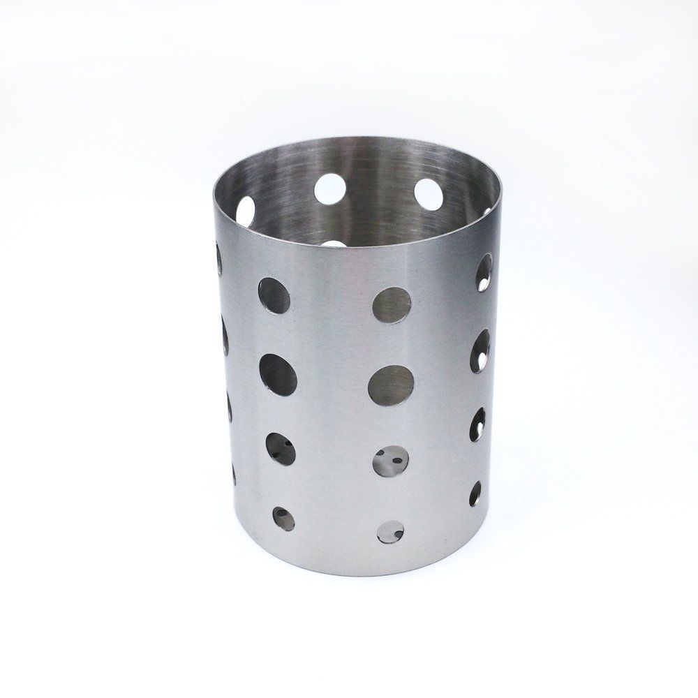 Stainless Steel Kitchen Utensil Holder 14cm Height    You Can Get More  Details Here