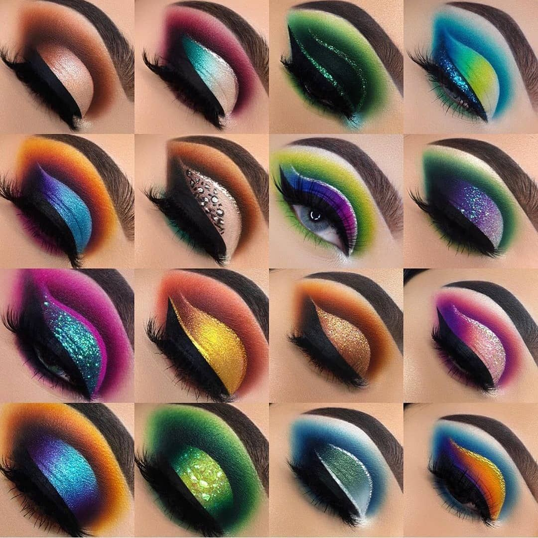 35 Impresionante maquillaje para ojos verdes #eyeshadowlooks 35 Impresionante …