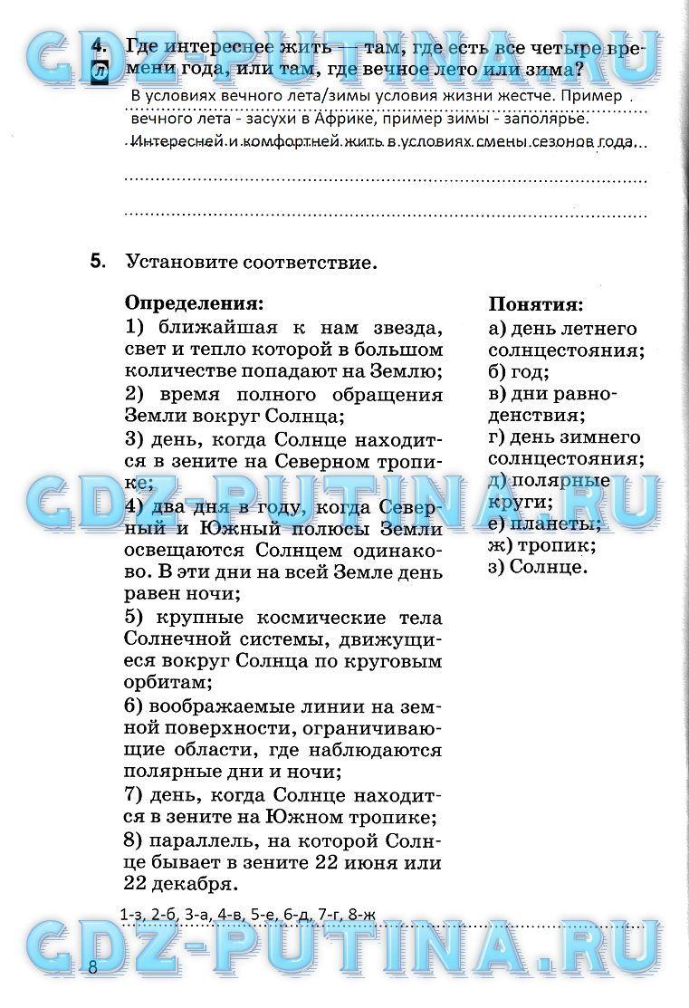 Готовые домашние задания по математике класса дорофеевой