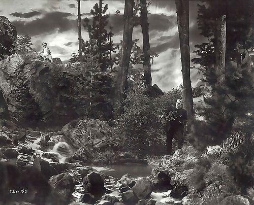 1935 ... 'The Bride of Frankenstein'  an AMAZING set!