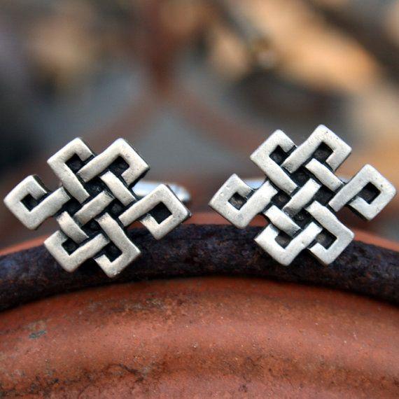 Gemelli gemelli nodo tibetano nodo celtico di dabbledesigns