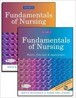 Fundamentals of nursing 1st edition wilkinson leuven vol 1 2 fundamentals of nursing wilkinson edition test bank fandeluxe Images