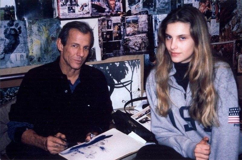 Me As A Snooty 15 Year Old And Peter Beard With Images