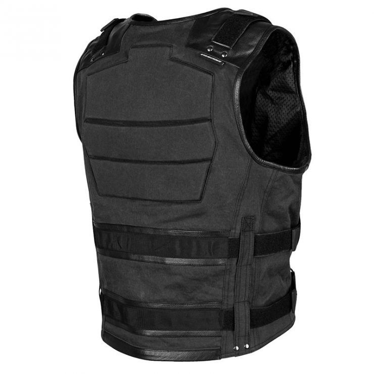 Speed and strength true grit armored motorcycle vest