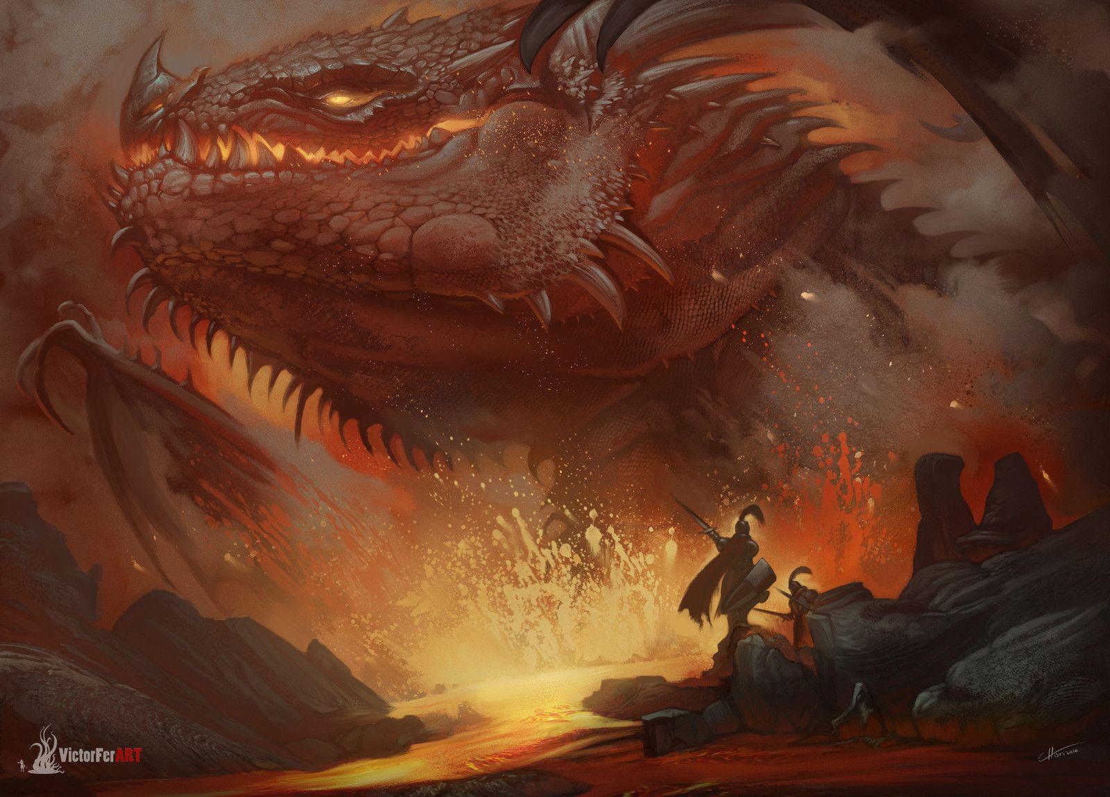 DragonTime!!, Victor Fernández on ArtStation at https://www.artstation.com/artwork/8OPqE