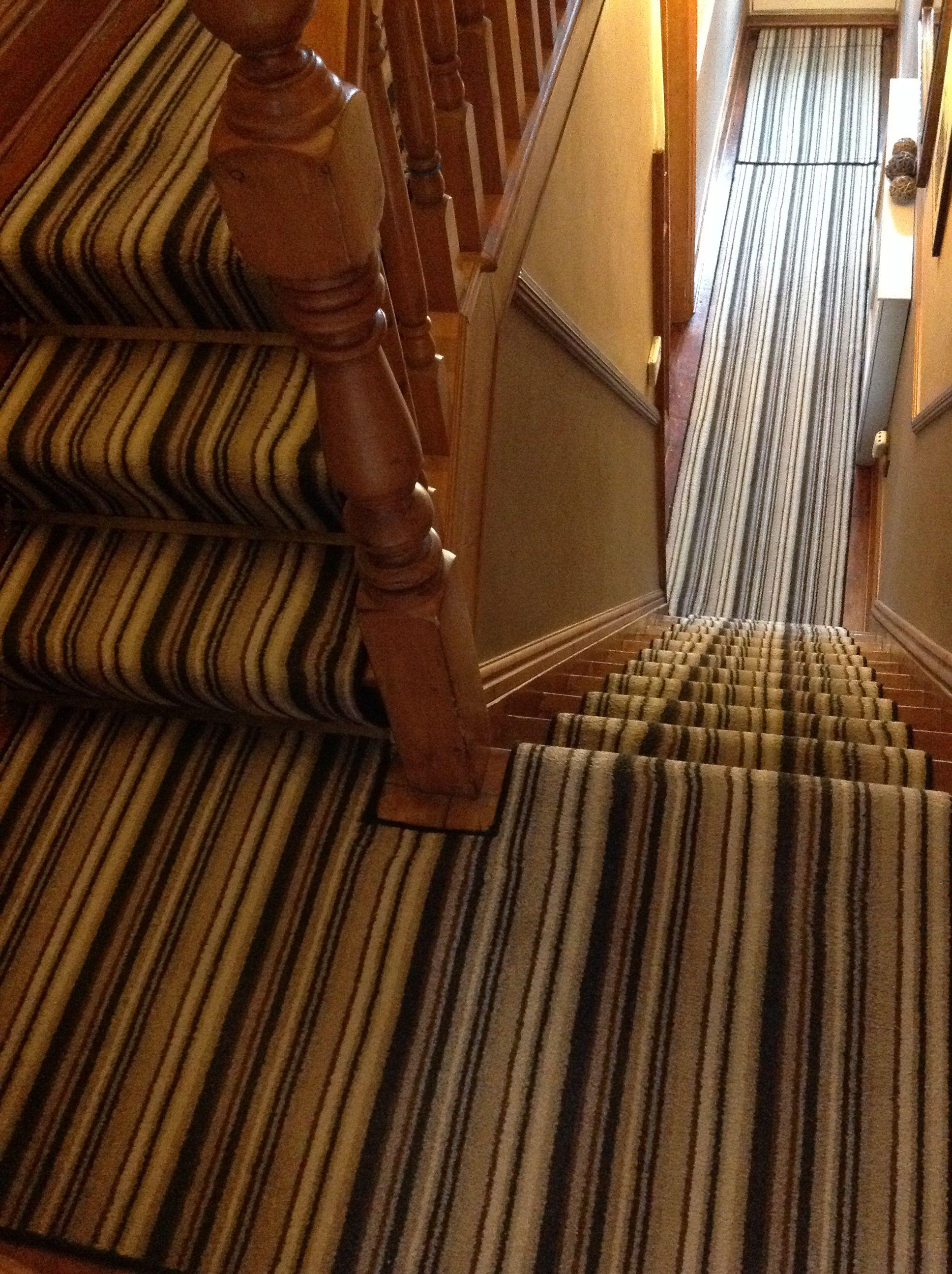 Stripes Stair Carpet Victorian Terrace House Homes