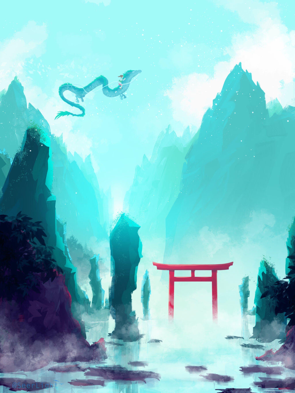 Spirited Away by SeerLight on DeviantArt Anime