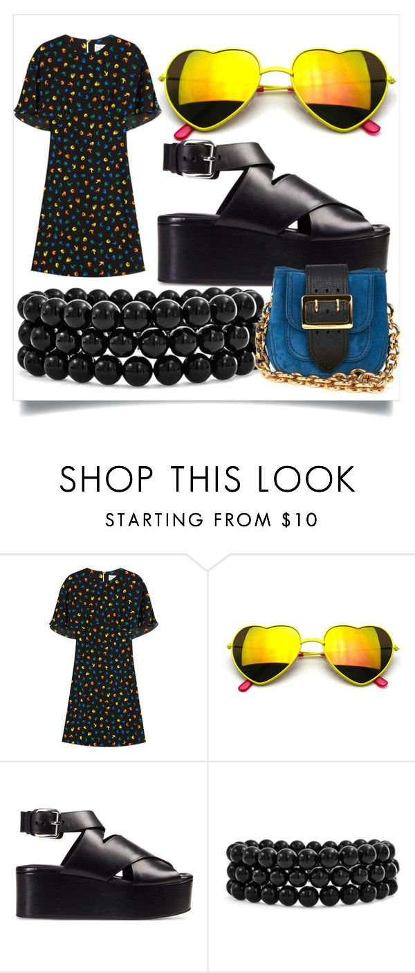 """""""Untitled #608"""" by fashionqueen556 ❤ liked on Polyvore featuring Sonia Rykiel, Revo, Alexander Wang, Bling Jewelry and Burberry"""