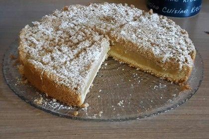 Apfelmus Vanillepudding Kuchen Pinterest Vanillepudding
