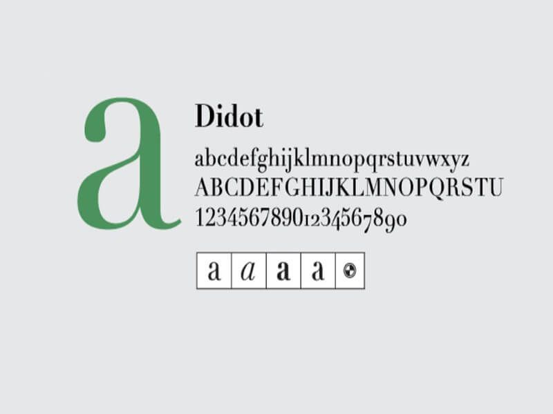 Didot Font Download | Didot Font Family Free Download | Free