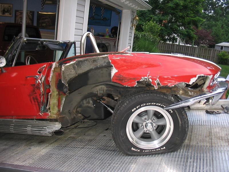 Wrecked Muscle cars - Page 7 - Yellow Bullet Forums | wrecked cars ...