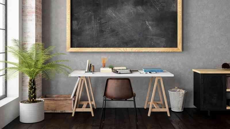 Richten Sie Ein Kleines Buro Ein 7 Tipps Und Ideen Fur Den Arbeitsplatz Arbeitsp In 2020 Schreibtisch Selber Bauen Buro Eingerichtet Schreibtisch Selber Bauen Ideen