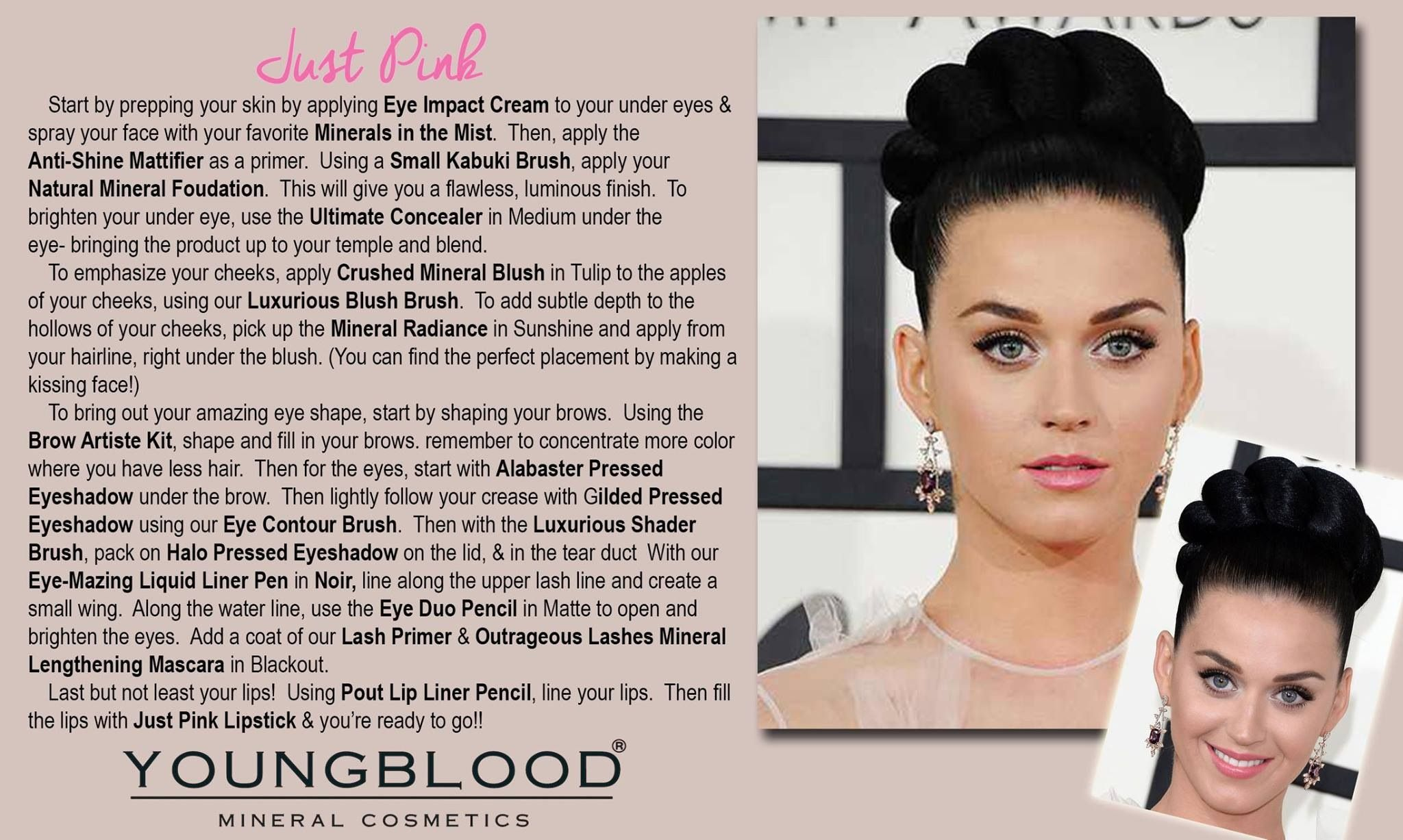 Mooie make up van Youngblood mineral cosmetics.