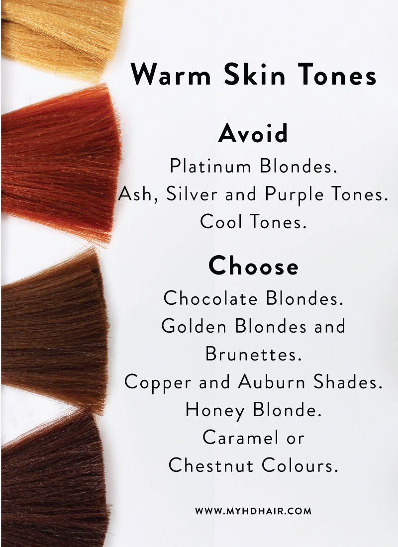 Hair 101 How To Choose The Hair Colour That Will Suit You Skin Tone Hair Color Hair Color For Warm Skin Tones Hair Color For Dark Skin Tone