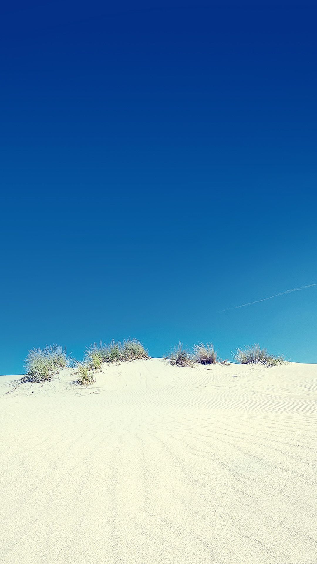 Desert Sand Dune And Clear Sky Android Wallpaper Places Spaces