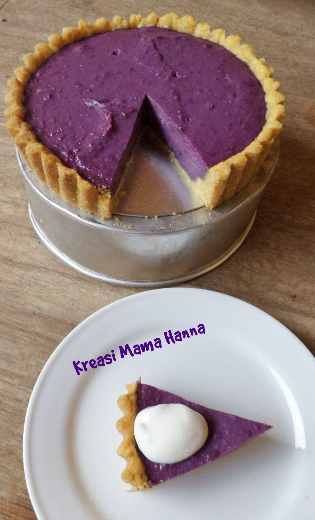 taro pie pie ubi ungu cooking in 2019 ube recipes
